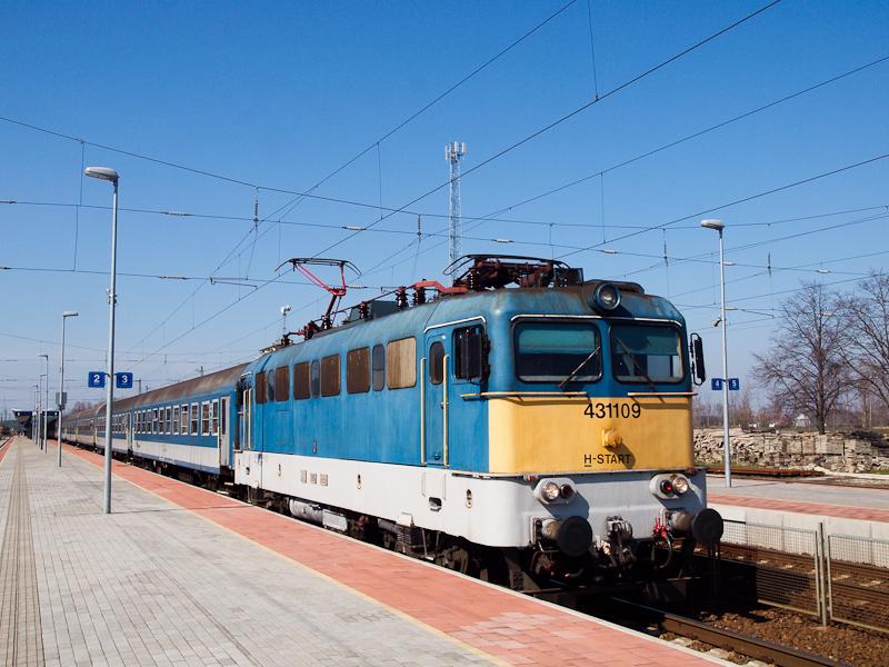 A MÁV-START 431 109 Kisújsz fotó