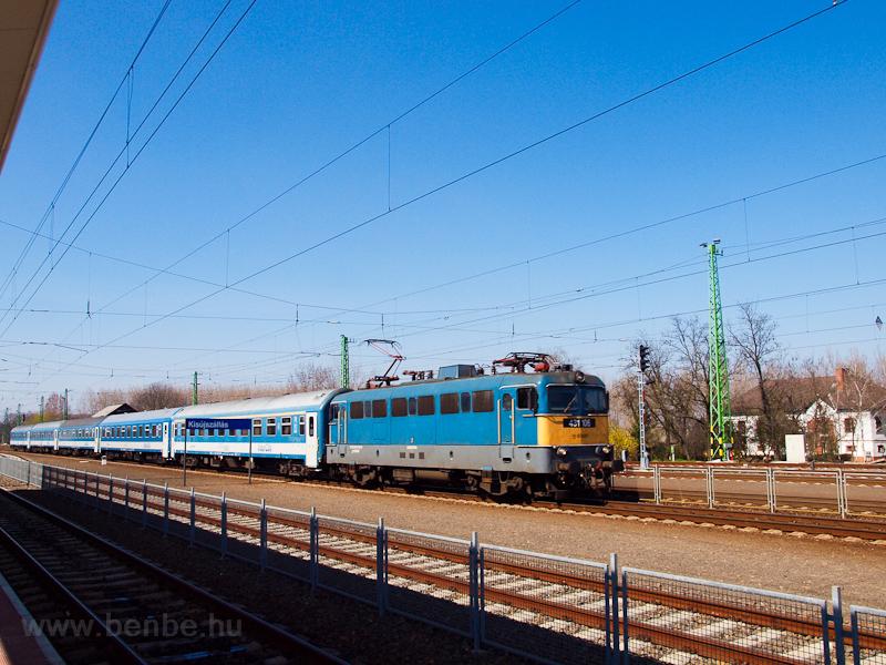 A MÁV-START 431 106 Kisújszállás állomáson fotó