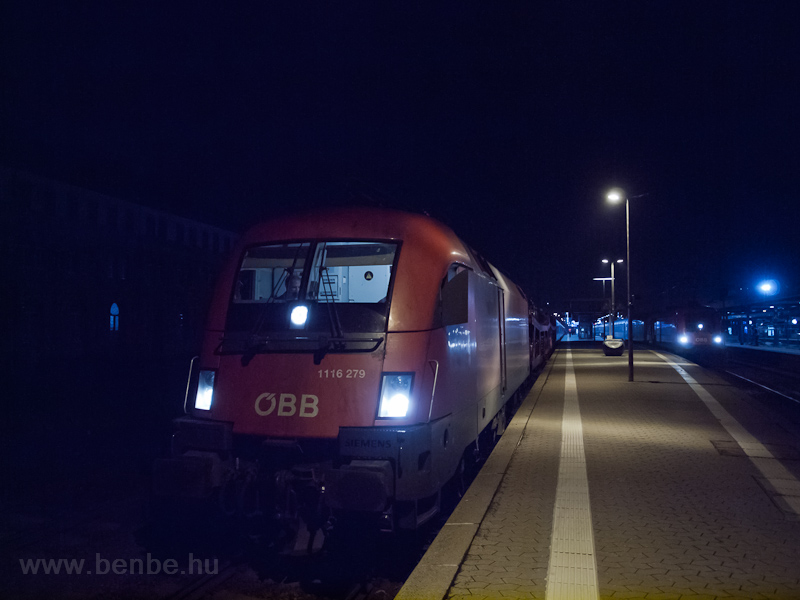 The ÖBB 1116 279 and 1116 0 photo