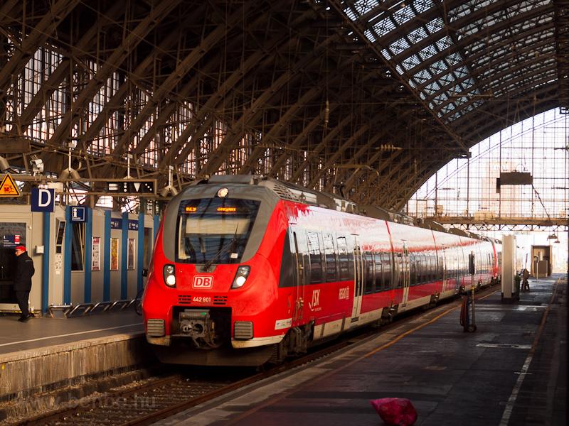A DB AG 442 801  Talent 2  Köln Hbf állomáson fotó