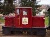 A Felsőtárkányi Erdei Vasút C-04 404 Felsőtárkány-Fűtőház állomáson
