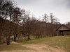 Hikers start their journey to the geyser-like Vöröskő-spring