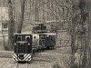A Nagybörzsönyi Erdei Vasút C50 3737 és C50 3756 Kisírtás, csúcsfordító megállóhelyen