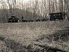 A Nagybörzsönyi Erdei Vasút C50 3737 Vetettfű és Füstös forrás között