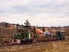 A Nagybörzsönyi Erdei Vasút C50 3737 Márianosztra állomáson