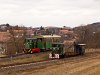A Nagybörzsönyi Erdei Vasút C50 3737 és C50 3756 Márianosztra állomáson