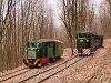 A Nagybörzsönyi Erdei Vasút C50 3756 és C50 3737 Tolmács-hegy, csúcsfordító állomáson