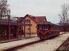 A Királyréti Erdei Vasút M06-401 Kismaros KEV állomáson