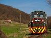 A Királyréti Erdei Vasút Mk48 2014 Paphegy és Szokolya-Riezner között