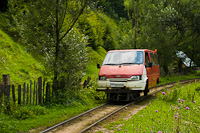 A CFF Viseu 01 Callatis Ford Transit Valea Scradei és Novat között
