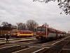 A MÁV-START 416 032 és 117 206 Orosháza állomáson