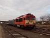 A MÁV-START 418 198 Orosháza állomáson