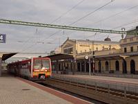 A MÁV-START 416 032 pályaszámú Uzsgyi Békéscsaba állomáson