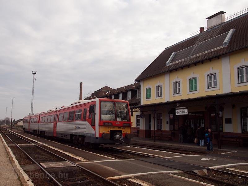 A MÁV-START 416 032 Orosháza állomáson fotó