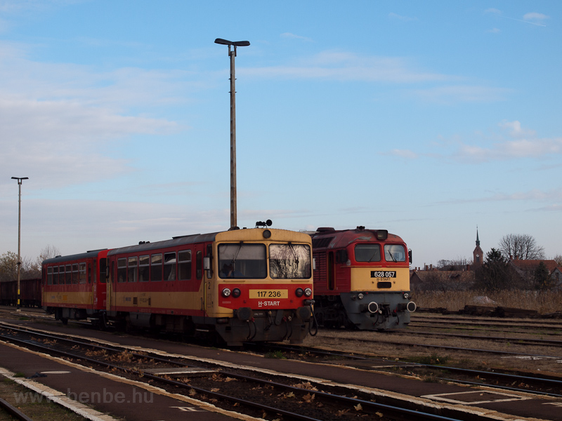 The MÁV-START 628 057 and t photo