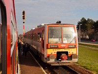 The MÁV-START 416 012 seen at Hódmezővásárhelyi Népkert