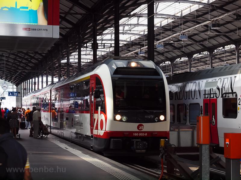 A Zentralbahn 160 002-8  FI fotó