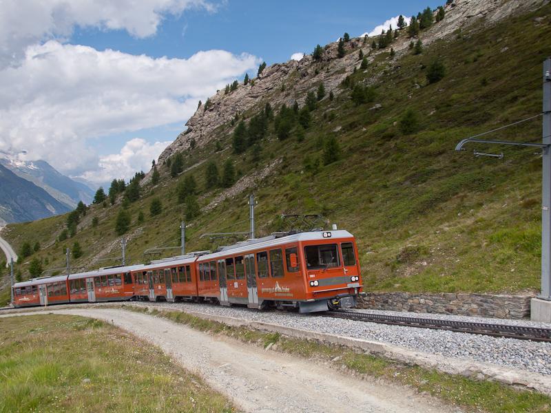 The Gornergratbahn (GGB) Bh photo