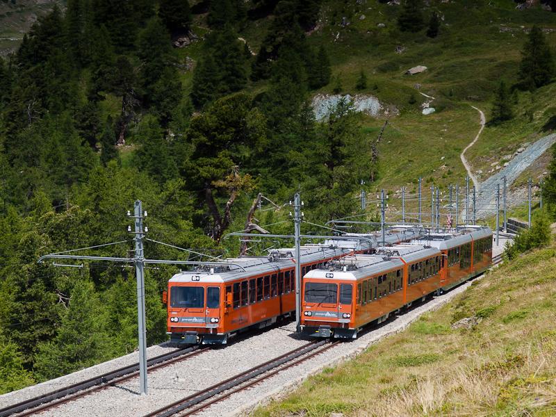 The Gornergratbahn (GGB) Bh picture