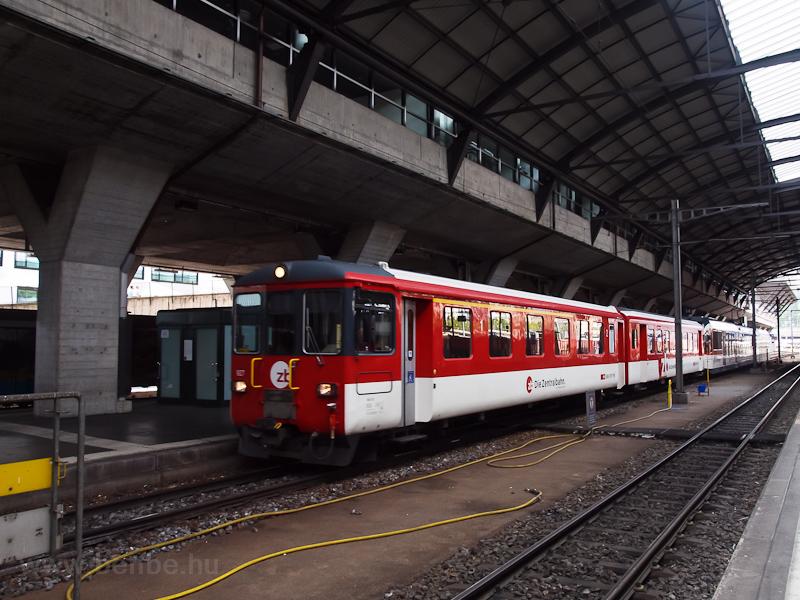 A Zentralbahn ABt 927-4 pál fotó