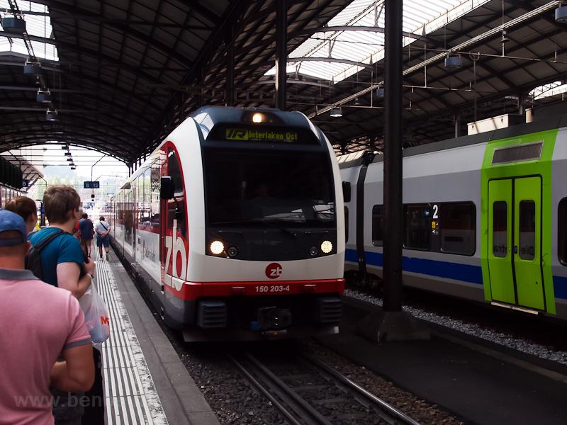 The Zentralbahn ABReh 150 2 photo