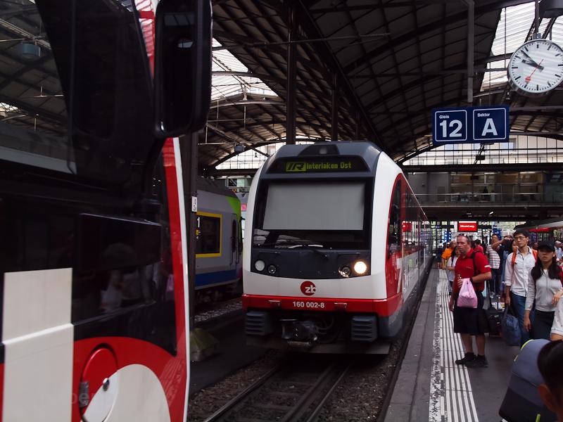 A Zentralbahn ABeh 160 002- fotó
