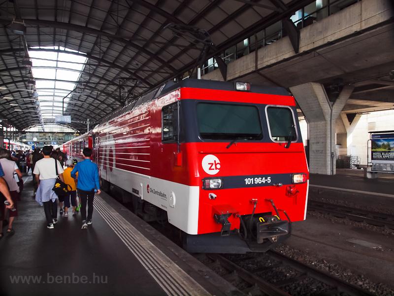A Zentralbahn HGe 4/4 964-5 fotó