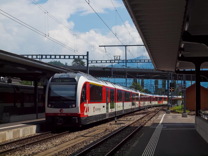 A Zentralbahn 160 964-5 Int fotó