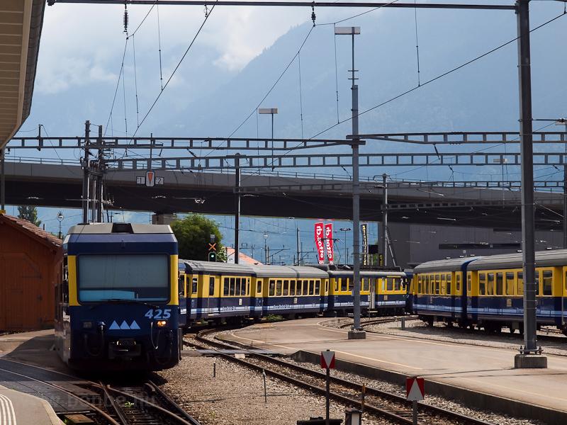 The Berner Oberlandbahn ABt photo