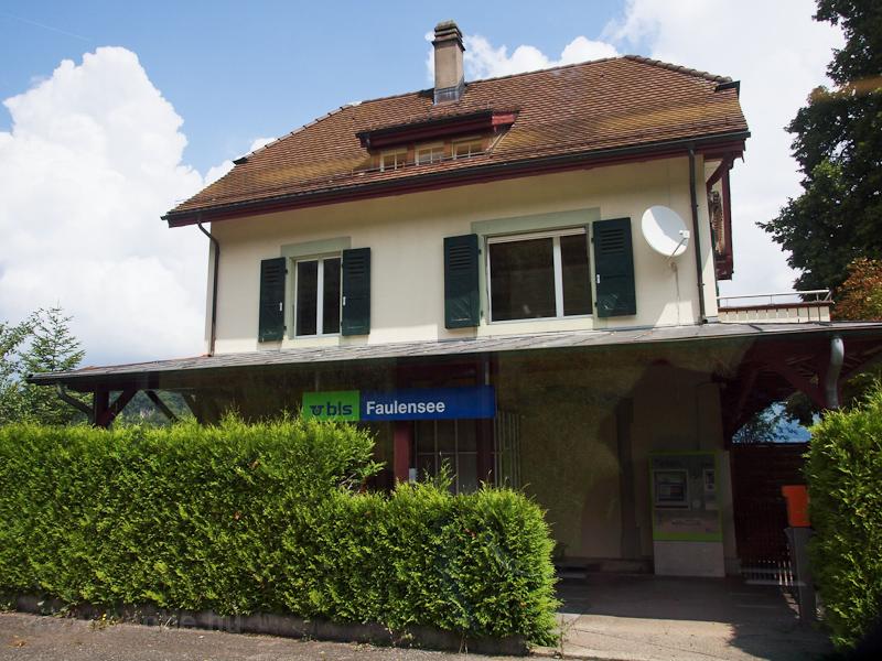A BLS Faulensee megállóhely fotó