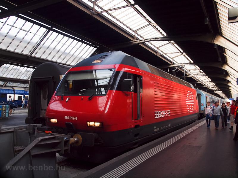 A SBB 460 012-8 Zürich Haup fotó