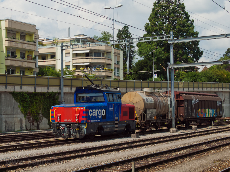 The SBB Cargo Eem 923 027-7 picture