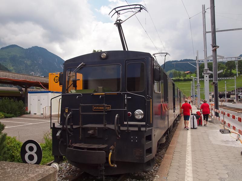 A MOB GDe 4/4 6002 Zweisimm fotó