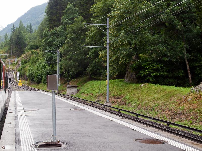 A Martigny-Chatelard vasút  fotó