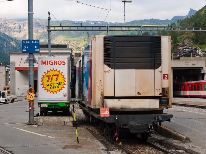 Zermatt állomás fotó