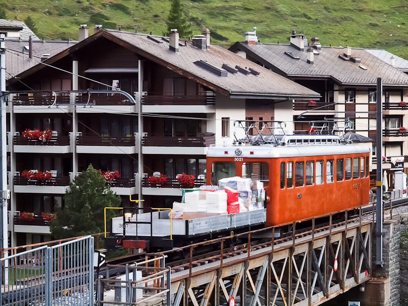 A Gornergratbahn Bhe 2/4 30 fotó