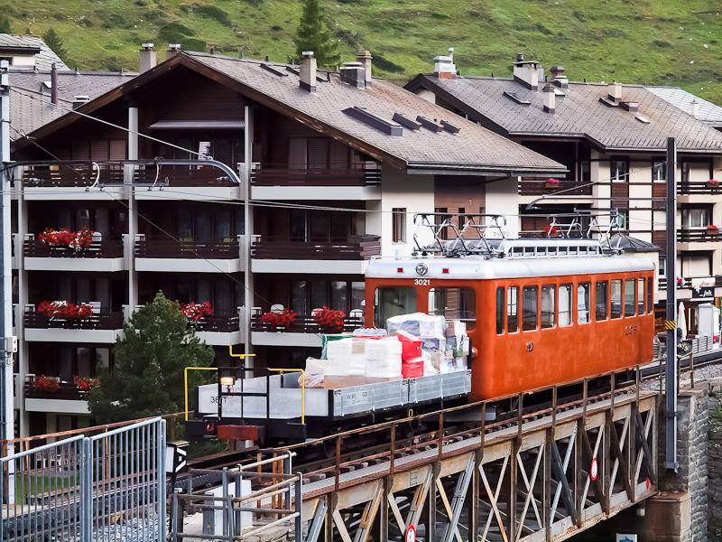 The Gornergratbahn Bhe 2/4  picture