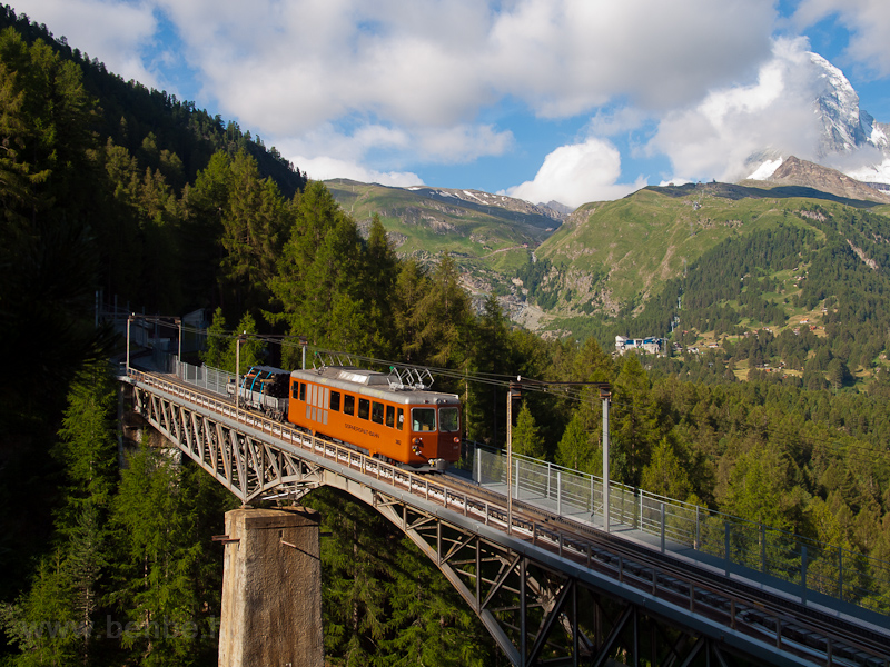 The Gornergratbahn Bhe 4/4  picture