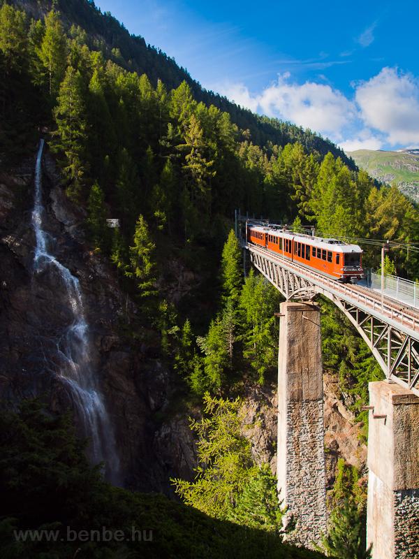 A Gornergratbahn Stadler gy fotó
