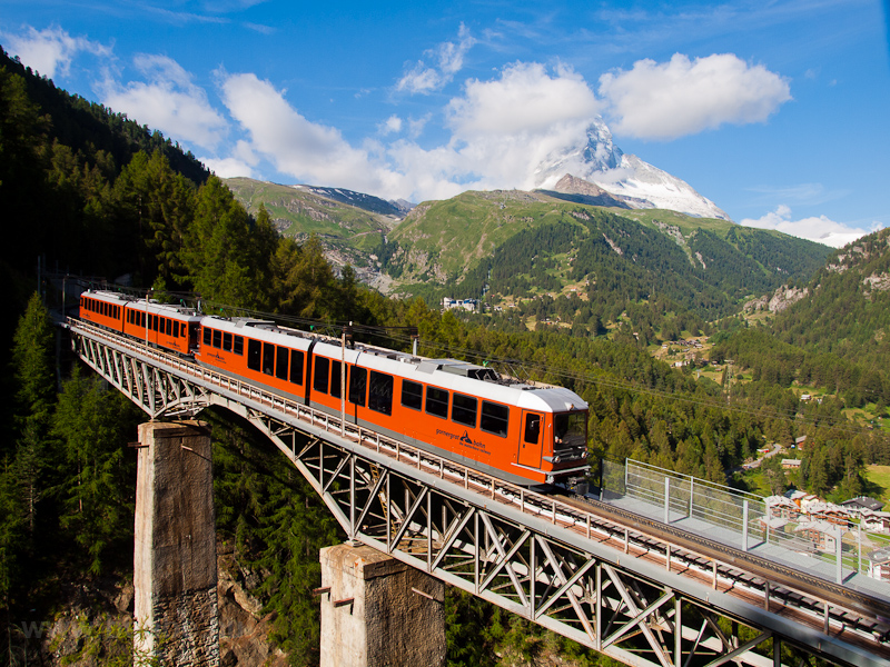 The Gornergratbahn Bhe 4/6  picture