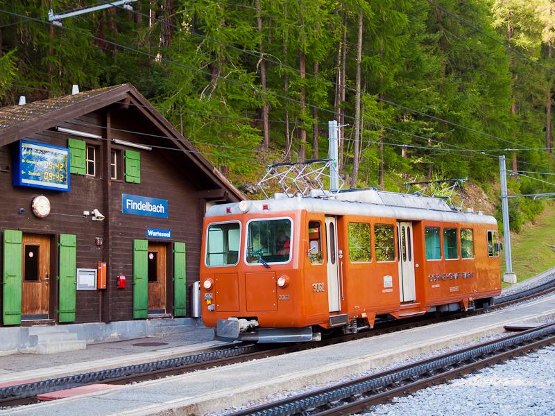 A Gornergratbahn Bhe 4/4 30 fotó