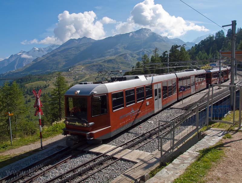 A Gornergratbahn Bhe 4/6 30 fotó