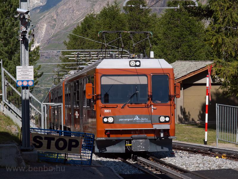 The Gornergratbahn Bhe 4/8  photo
