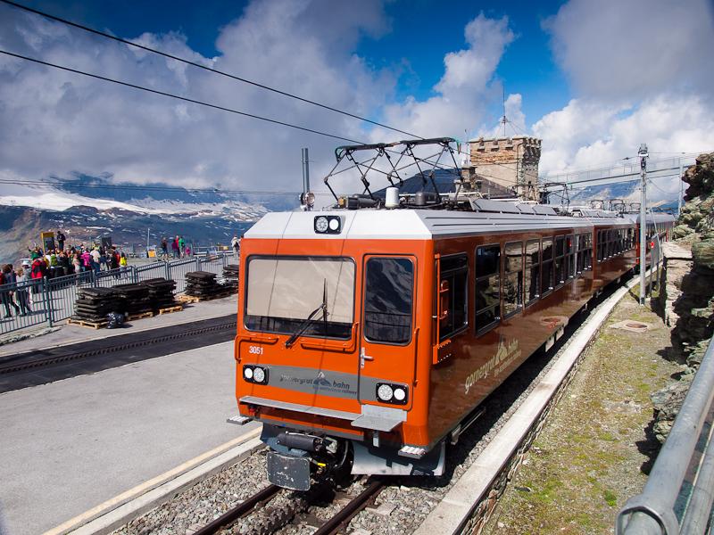 A Gornergratbahn Bhe 4/8 30 fotó