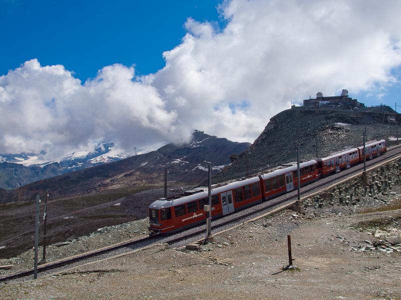 The Gornergratbahn Bhe 4/6  photo