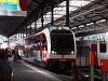 A Zentralbahn 160 002-8 <q>FINK</q> Luzern Hauptbahnhof állomáson