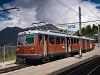 A Gornergratbahn (GGB) Bhe 4/8 3044 Riffelalp állomáson
