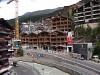 Építkezések a Mattervispa mentén Zermattban