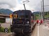 A MOB GDe 4/4 6002 Zweisimmen állomáson