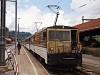 A MOB GDe 4/4 6005 Zweisimmen állomáson